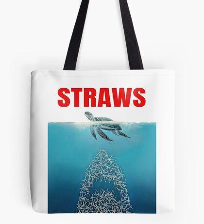 Straws - Vintage Tote Bag