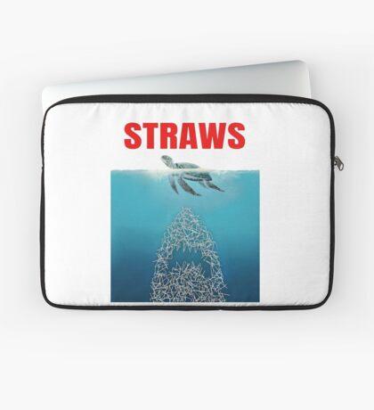 Straws - Vintage Laptop Sleeve