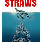 Straws - Vintage by mavisshelton