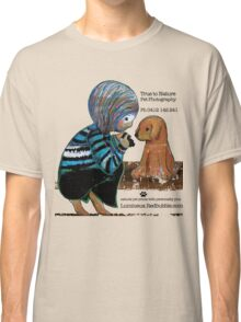 Smile Baby Pet Portrait Photographer CUSTOMISED Classic T-Shirt