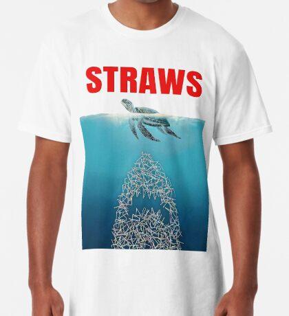 Straws - Vintage Long T-Shirt