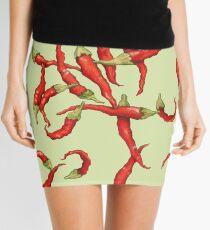 Red Hot Chillies green Mini Skirt