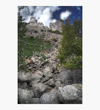 Rocks of Rushmore Photographic Print