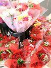 Flower Market by MarjorieB