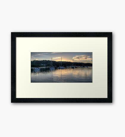 Meditation On Newport - Newport, Sydney - The HDR Experience Framed Print