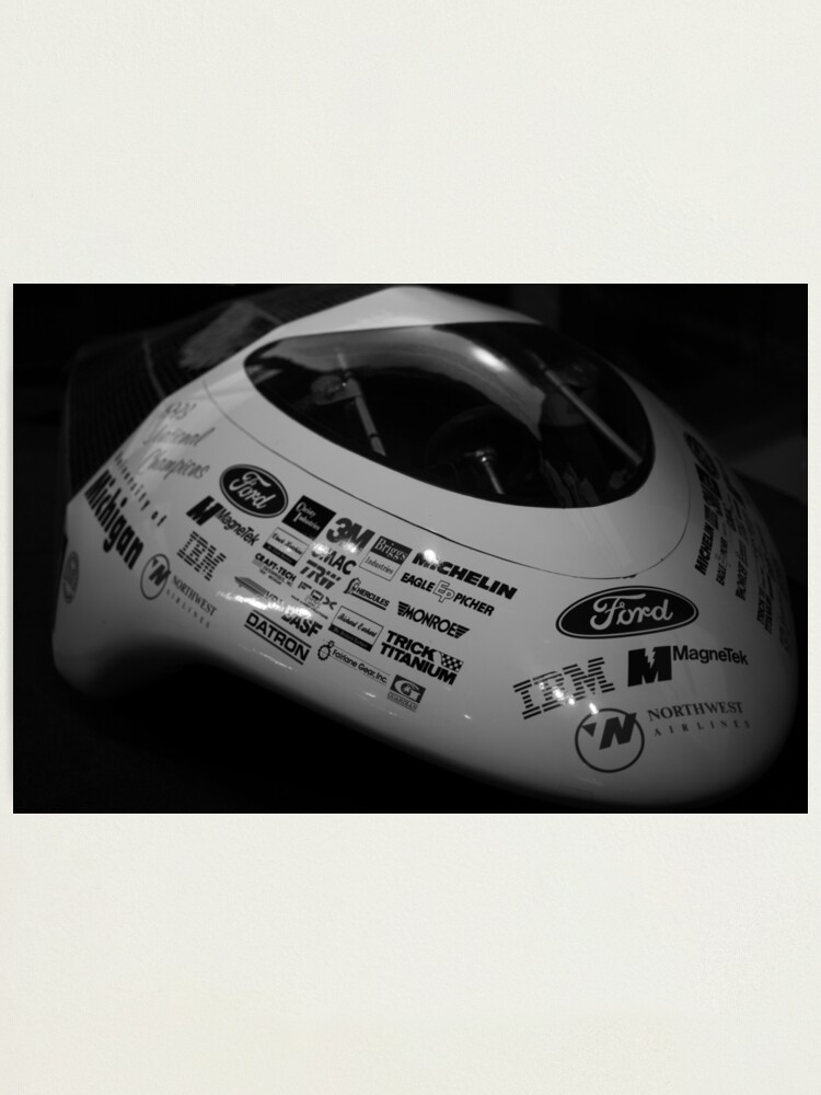 Alternate view of Solar Powered Racer Photographic Print