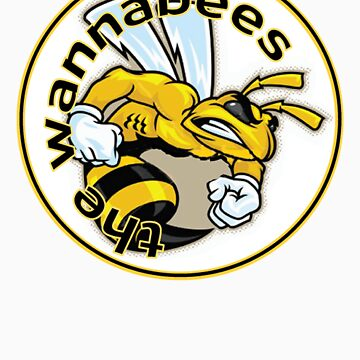 Wannabees windsurfing team shirt by nibbles9