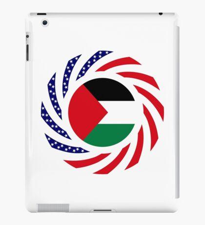 Palestinian American Multinational Patriot Flag Series iPad Case/Skin