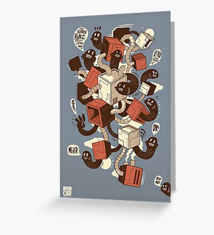 Techtites Greeting Card