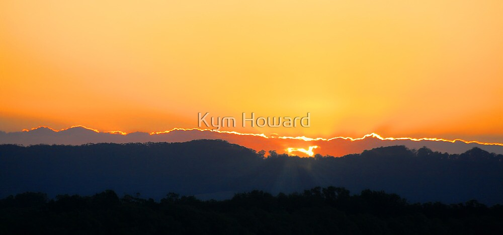 Golden Sunset by Kym Howard