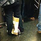 subway feet by John Sunderland