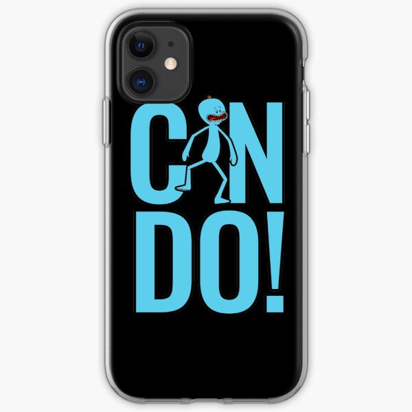 Mr. Meeseeks Can Do from Rick and Morty iPhone Soft Case