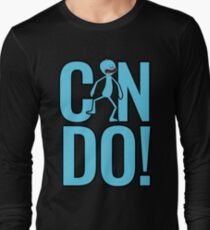 Mr. Meeseeks Can Do from Rick and Morty Long Sleeve T-Shirt