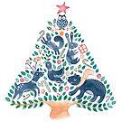 Woodland Christmas by kimfleming