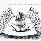 Per aspera ad astra - ink illustration  by Donata Zawadzka