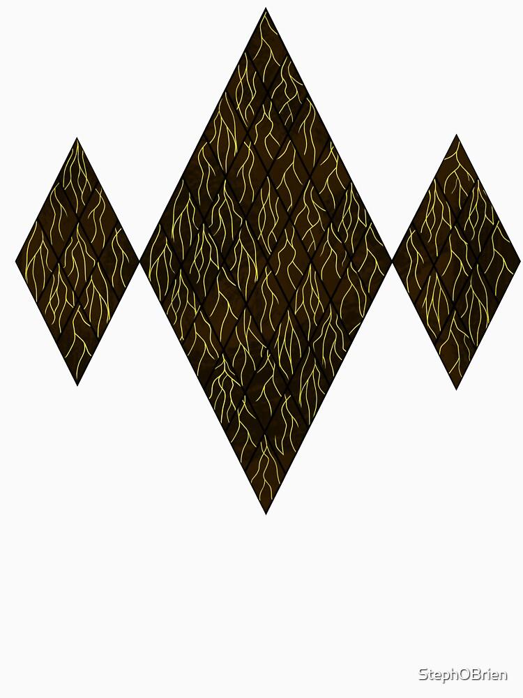 Earthen Scales, Golden Streams by StephOBrien