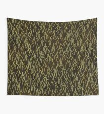 Earthen Scales, Golden Streams Tapestry