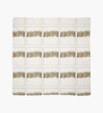 The Pied Piper of Hamlin Robert Browning art Kate Greenaway 0041 Tripping Scarf