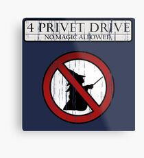 No magic allowed Metal Print