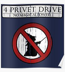 No magic allowed Poster