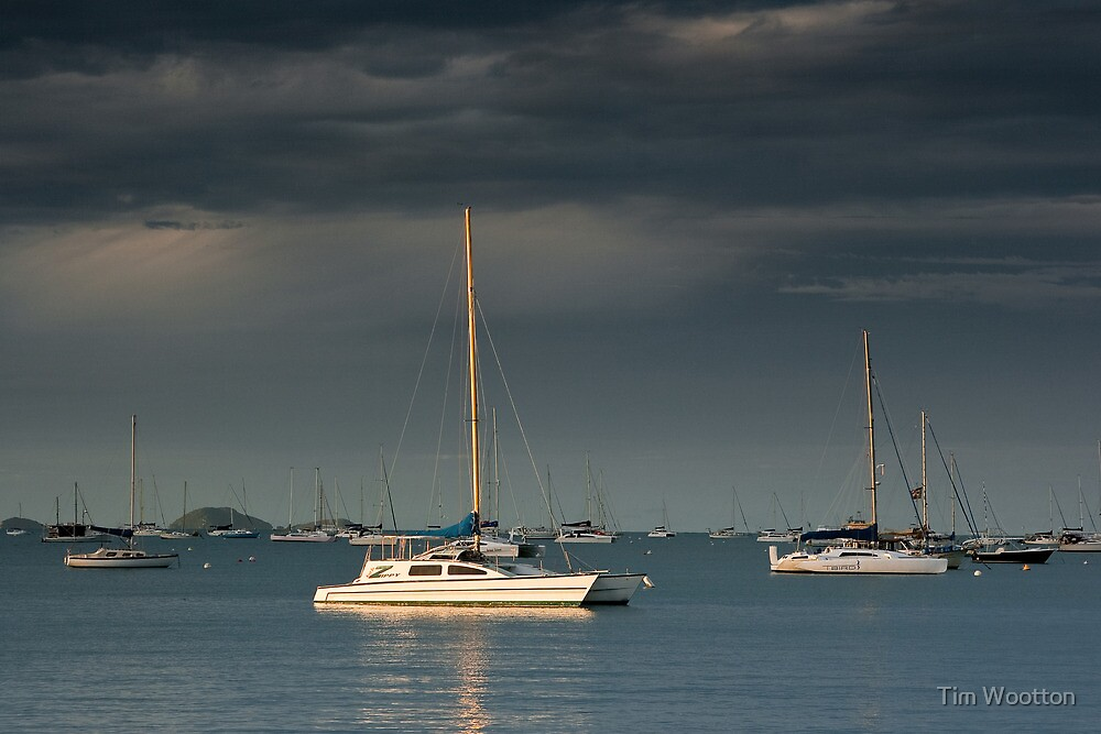 Cruising Yachts-Airlie Beach by Tim Wootton