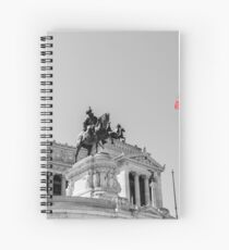 Rome, Altar of the Fatherland  Spiral Notebook