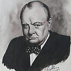 Sir Winston Churchill by Robert David Gellion