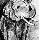 Wild Elephant by suparna soman