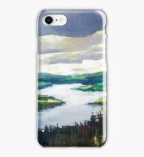 Through the clouds, nature landscape iPhone Case/Skin