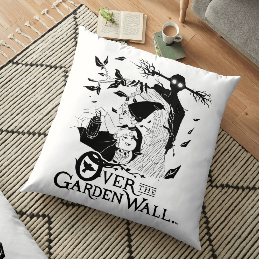 Over the garden wall - Lost in the woods Positive Version Floor Pillow
