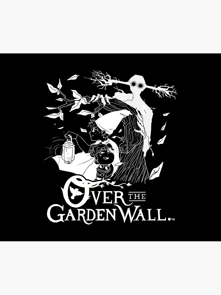 Over the garden wall - Lost in the woods Negative Version by Aremia17