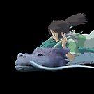 Chihiro meets Falcor by Ednathum