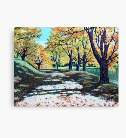 'This Glorious Day' (Bass Lake) Canvas Print