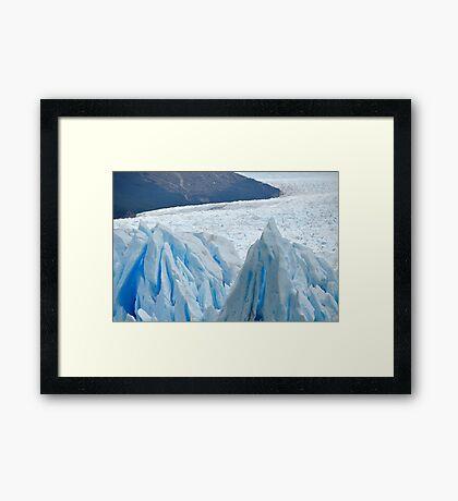 Glacial Beauty Framed Print
