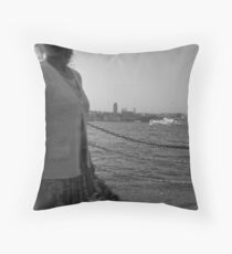Mediterranea Shared & Divided - Tunisia Throw Pillow