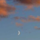 Sunset Moon by MaeBelle