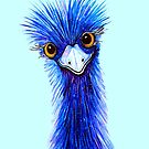 QUIRKY EMU  by Linda Callaghan