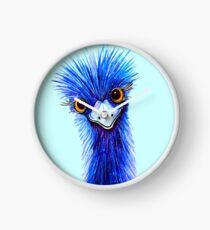 QUIRKY EMU  Clock