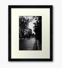 Streets of Seville, Spain  Framed Print