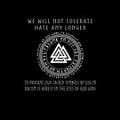 Heathens Don't Hate - Valknut by Sarinilli