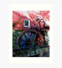 Wallace - Cross Mill_2 Art Print