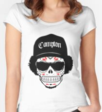 Eazy E: Straight Outta Redbubble Women's Fitted Scoop T-Shirt