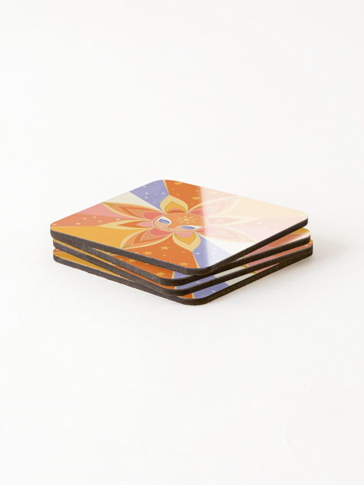 Alternate view of Sun Worshipper Coasters (Set of 4)
