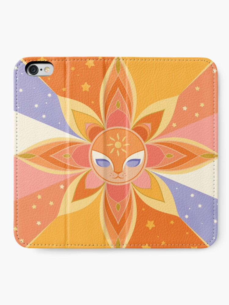 Alternate view of Sun Worshipper iPhone Wallet