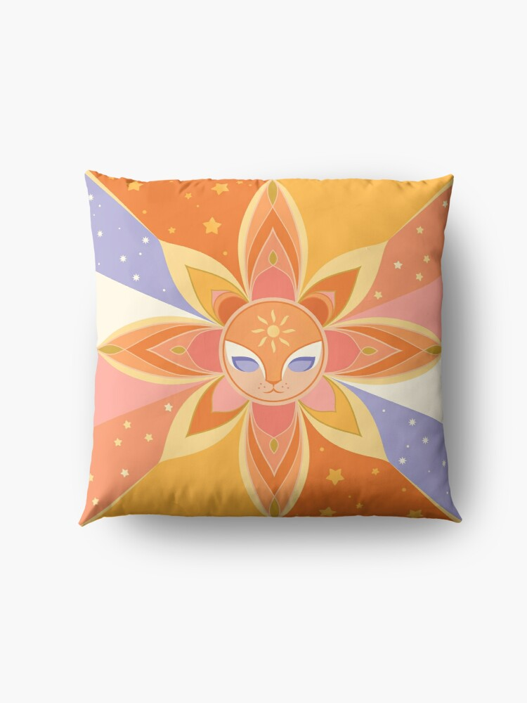 Alternate view of Sun Worshipper Floor Pillow