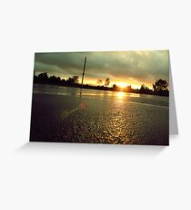 blacktop Greeting Card