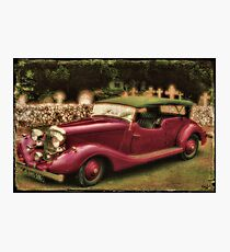 The Vicar's Roadster Photographic Print