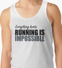 Running is Impossible - Andy Dwyer Tank Top