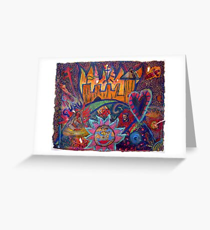 Love And Dreams And Gravity Greeting Card