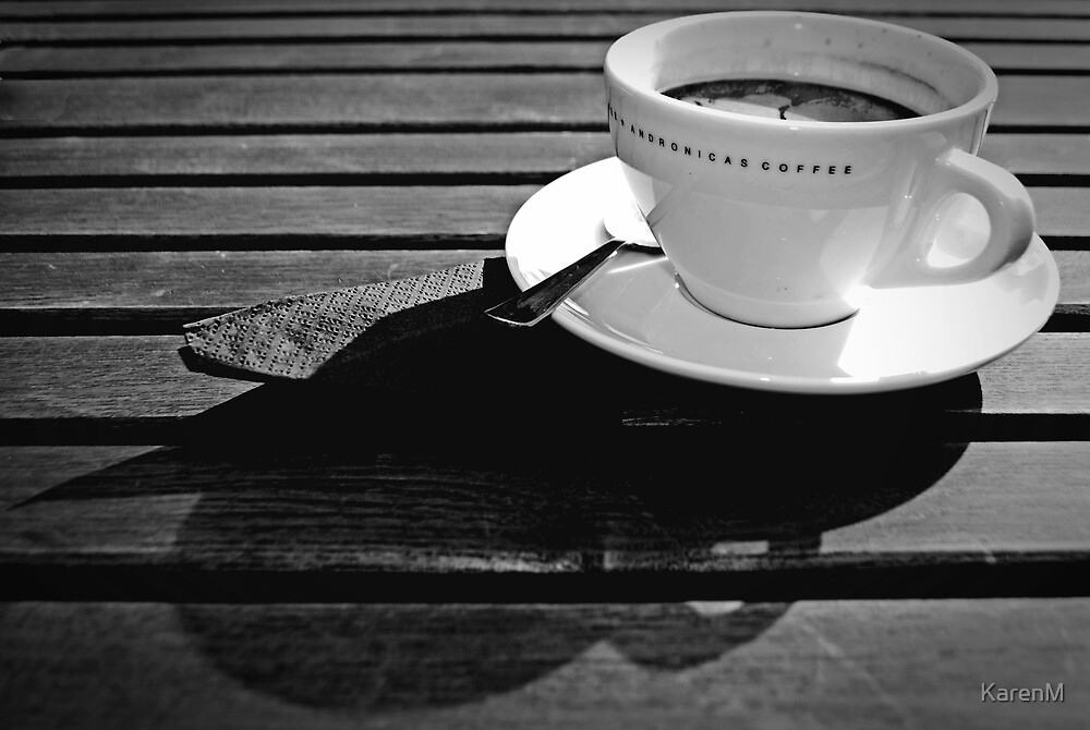 Coffee Cup Shadows by KarenM
